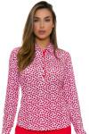 EP Pro NY Women's Poppy Fields Bud Print Golf Long Sleeve Polo EPNY-NS5001 Image 4