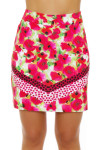 EP Pro NY Women's Poppy Fields Bouquet Print Golf Skort EPNY-1122NAB Image 1
