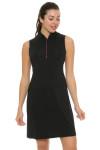 EP Pro NY Women's Marbella Print Blocked Golf Dress EPNY-0140NAD Image 1