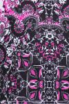 EP Pro NY Women's Marbella Print Blocked Golf Dress EPNY-0140NAD Image 6