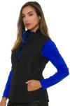Greg Norman Women's Animal Instincts Quilted Reversible Vest | Golf Wear 6