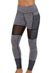 TLF Women's Edie Graphite Heather Workout Legging