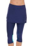 Sofibella Women's Nautical Navy Abaza Tennis Skirt Leggings | Tennis Wear 2
