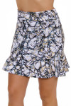 Kevan Hall Sport Women's Savvy Marble Flippy Pull On Golf Skort
