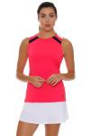 Fila Women's Heritage Full Coverage Diva Pink Tennis Tank FT-TW173WS2-676 Image 6