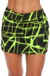 Fila Platinum Glow Print Tennis Skirt