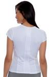 Fila Women's Net Set White Cap Sleeve Tennis Top