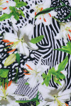EP Pro NY Women's Culture Clash Animal Lily Print Golf Skort