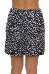 EP Pro NY Women's Culture Clash Leopard Print Pull On Golf Skort