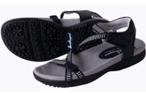 Galia Black Golf Sandal