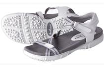 Galia White Golf Sandal