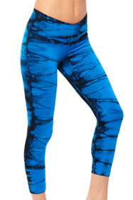 Deep Blue V-Crop Workout Pant