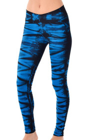 Deep Blue V-Ankle Workout Pants