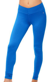Royal Jade V-Ankle Solid Workout Pants