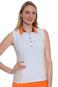 Alana Sleeveless Golf Shirt
