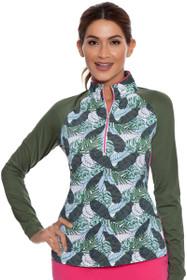 Lorelie Zip Mock Long Sleeve