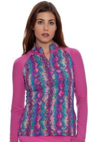 Baha Kasbah Long Sleeve Skin Print Shirt