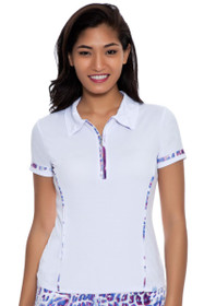 GGBlue Women's Prince of Persia Bella Short Sleeve Golf Polo Shirt