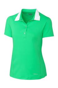 Annika Women's Green Play Rally Golf Polo Shirt