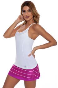 New Balance Women's Azalea Challenger Reversible Tennis Skirt