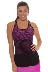 New Balance Women's Azalea Accelerate Graphic  Tunic Top