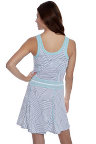 Eleven Women's Strike Miami Strike Print Tennis Dress