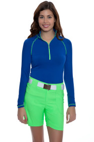 Jofit Women's Melon Ball Belted Golf Short