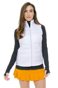 Eleven Women's Geo Swirl Flutter Pleated Tennis Skirt - 2 Lengths