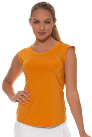 Eleven Women's Geo Swirl Ascend Relaxed Solid Tennis Shirt