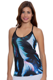 New Balance Women's Bayside Studio Print Cami Tank