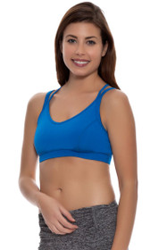 Stonewear Women's  Tempo Double Cross Sports Bra