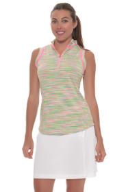 EP Sport Women's Coachella Billboard Easy Pull On Golf Skort