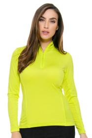 Peter Millar Women's Laguna Sun Comfort Solid Long Sleeve Shirt