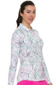 SanSoleil  SolTek Long Sleeve Print Sun Shirt