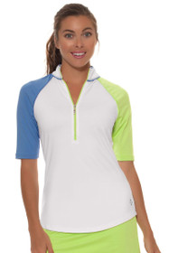 Jofit Women's Chardonnay Maraschino Mock Golf Top