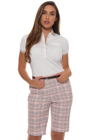 Fairway and Greene Women's Somerset Lillian Printed Golf Short