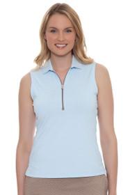 Fairway and Greene Women's Somerset Marisol Sleeveless Golf Polo Shirt