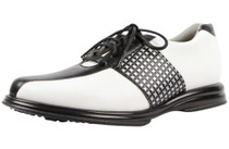 Sandbaggers Women's  Krystal Black Lace Women's Golf Shoe