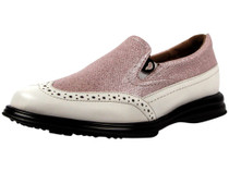 Sandbaggers Women's  Vanessa Pink Shimmer Women's Golf Shoe