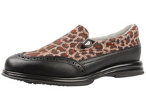 Sandbaggers Women's  Vanessa Brown Leopard Women's Golf Shoe