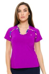 Eleven Women's Prism Flying Vee Tennis Shirt