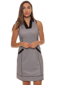 Jofit Women's Cabernet Wide Placket Golf Dress