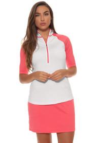 Jofit Women's Cabernet Jacquard Mina Golf Skort