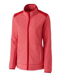Cutter and Buck Women's Basics Cedar Park Full Zip Jacket