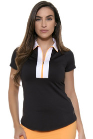 Jofit Women's Sonoma Sport Wide Placket Golf Polo Shirt
