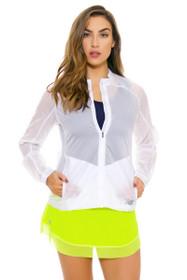 Mesh Hem Firefly 40 Degree Tennis Skirt