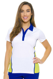 EP Ipanema Contrast Blocking Golf Polo Shirt