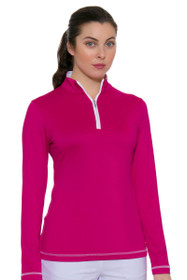 Choice Zip Mock Golf Top