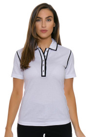Cutter & Buck Women's Luxe Day Trip Golf Short Sleeve Shirt