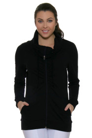 Squeeze Play Full Zip Golf Top